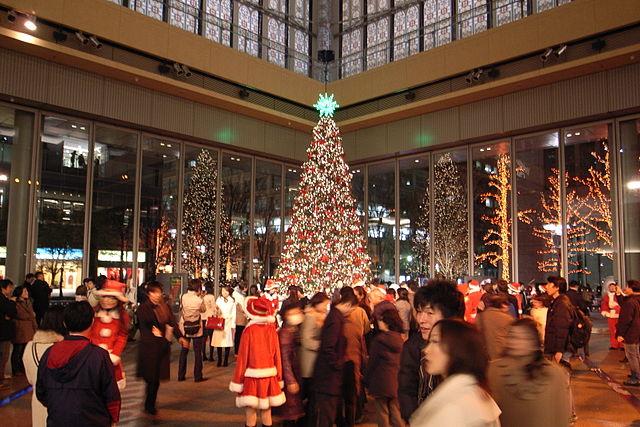 Japanese Christmas Tree.Christmas In Japan H R Group K K
