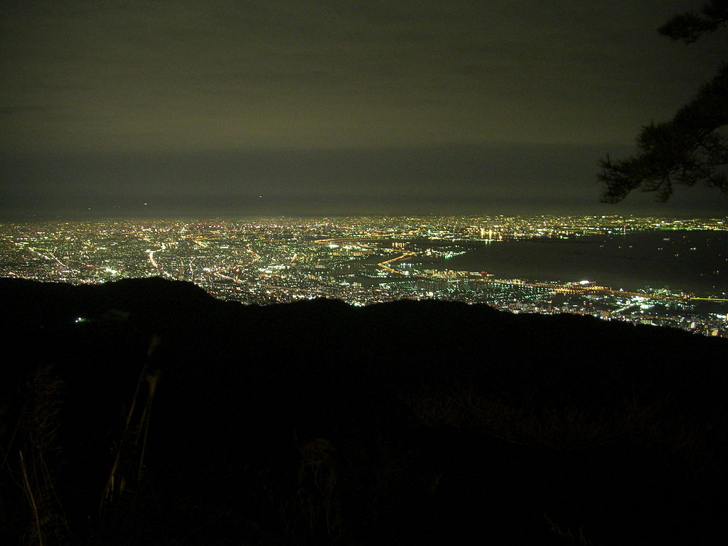 Mount Rokko Night View