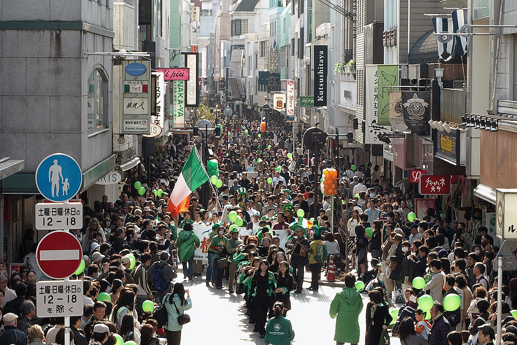 Saint Patricks Day in Japan