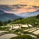 Oku Japan, Maruyama Senmaida, rice terraces,